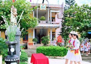 Tự hào mái trường mang tên Trạng nguyên Nguyễn Hiền trên quê hương Nam Trực thân yêu