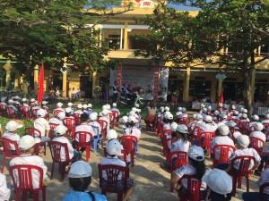 """Trường tiểu học Nam Trung """"An toàn giao thông cho nụ cười trẻ thơ"""""""